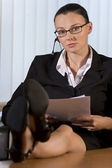 Succesful Businesswoman — Stock Photo