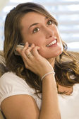 Thoughtful Phonecall — Stock Photo