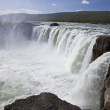 Godafoss Waterfall, Iceland — Stock fotografie