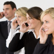 Business Communications Team — Stock Photo
