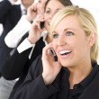 Stock Photo: Business Communications