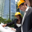 Executive Construction Team — Stock Photo #6482946