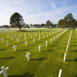 American Cemetery Colleville-sur-Mer Omaha Beach Normandy France — Stock Photo