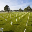 American Cemetery Colleville-sur-Mer Omaha Beach Normandy France - Stock Photo