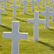 American Cemetery Colleville-sur-Mer Omaha Beach Normandy France — Stock Photo #6484056