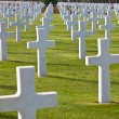 American Cemetery Colleville-sur-Mer Omaha Beach Normandy France — Stock Photo #6484057