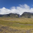 Iceland Panoramic Mountain Landscape — Stock Photo #6484329