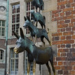 The Bremen Town Musicians Statue - Stock Photo