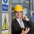 Construction Site Manager — Stock Photo #6486763