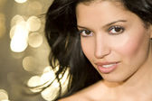 Latina Beauty Too — Stock Photo