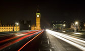 Westminster Bridge, London, England — Stock Photo