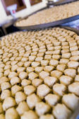 Trays of Baklava Pastries on Display In An Arabic Restaurant — Stock Photo