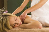 Relaxing Massage — Stock Photo