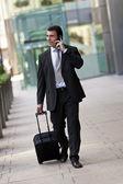 Business Traveller — Stock Photo