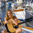 Maritime Music - Stock Photo