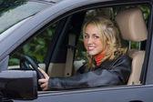 Beautiful Driver — Stock Photo