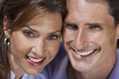 Successful Happy Middle Aged Man and Woman Couple Portrait — Stock Photo