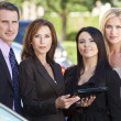 Business Team of Businessman & Businesswomen — Stock Photo