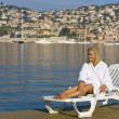 Mediterranean SUnbed - Stock Photo