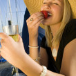 Champagne & Strawberries — Stock Photo #6685484