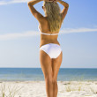 Beauty And The Beach — Stock Photo