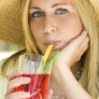 Summertime Drinks — Stock Photo