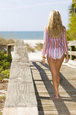 On The Way To The Beach — Stock Photo