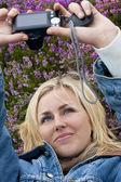 Self Portrait In The Heather — Photo