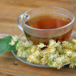 Linden tea — Foto de Stock