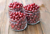 Fresh cherries. — Stock Photo