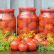 Royalty-Free Stock Photo: Tomatoes canning