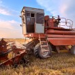 Combine harvesting — Stock Photo #6412694