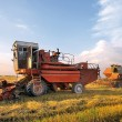 Combine working — Stock Photo