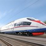 High-speed train. — Stock Photo #6500735
