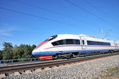 High-speed commuter train. — Stock Photo