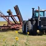 Big tractor big disc — Stock Photo #6458867