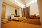 Beautiful expensive bedroom — Stock Photo