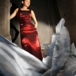 Asian Model in various fashion poses — Stock Photo #6366053