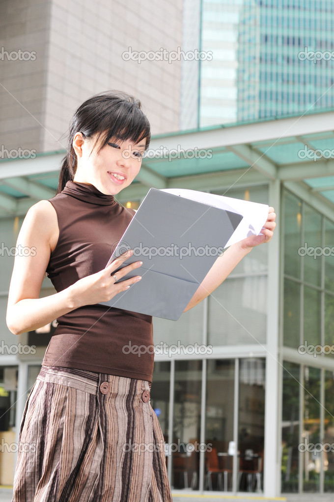 Picture of an office worker  — Foto Stock #6368966