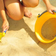 Sandcastle making tools — Stock Photo