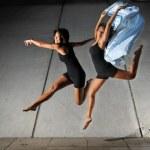 bailarín contemporáneo chino asiático — Foto de Stock