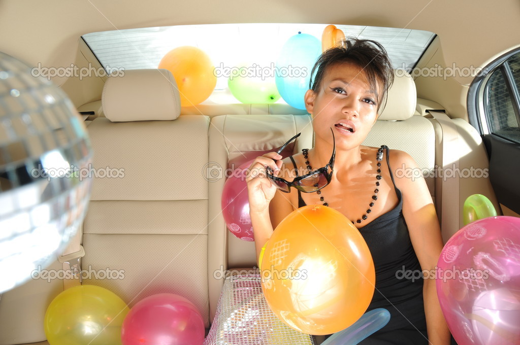 Useful for describing party scenes — Stock Photo #6663162