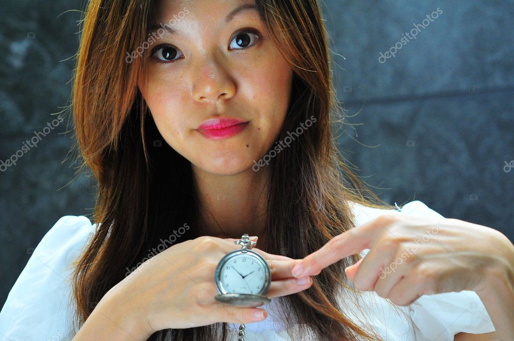Useful for showing time aspect in asia — Stock Photo #6723466