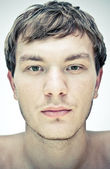 Male face — Stock Photo