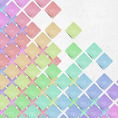 Tag recycled paper craft mosaic stick background — Stock Photo