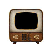 Television ( TV ) icon recycled paper — Foto Stock