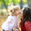 Woman and child having fun — Stock Photo #6270196