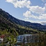 Bavaria landscape — Stock Photo