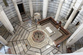 Inside the Baptistery of Pisa Tuscany Italy — Stock Photo