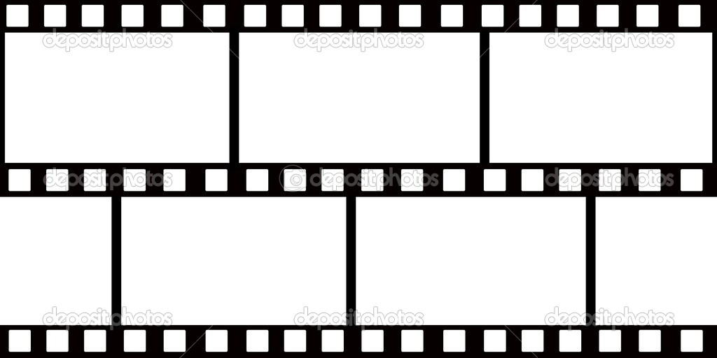 Film roll and white background — Stock Photo #6335205